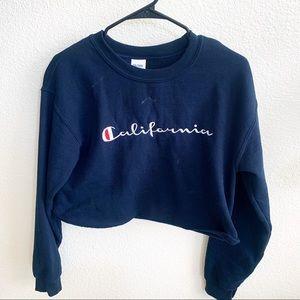 Champ champion California crewneck sweater blue